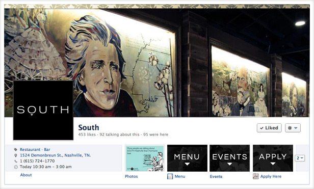 South Facebook