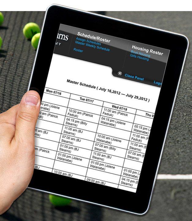 TennisSchedulingSoftwareB