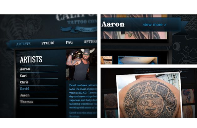 california-tattoo-website