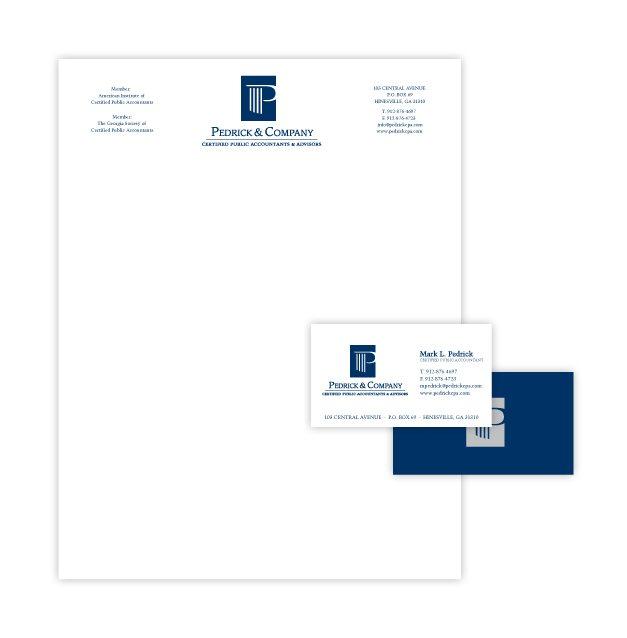 CPA Letterhead Design