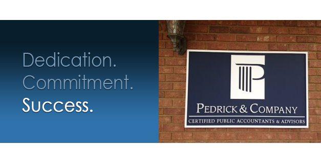 pedrick sign design